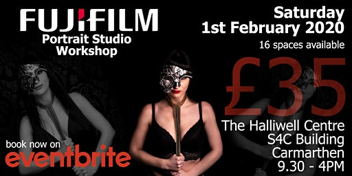 Studio Portrait Workshop w/ Carmarthen Cameras & Fujifilm