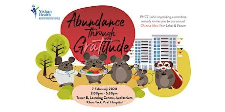 PHCT Chinese New Year Lohei & Forum 2020 tickets