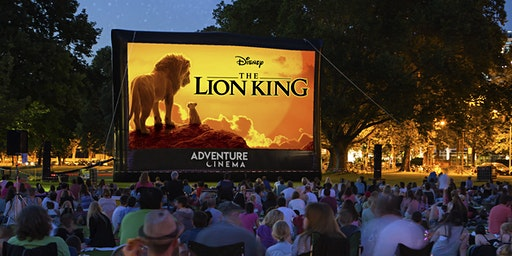 Disney The Lion King Outdoor Cinema  Experience at Powis Castle, Welshpool