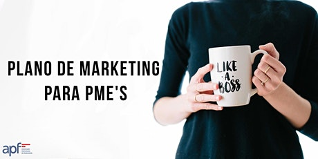 Plano de marketing para PME's bilhetes