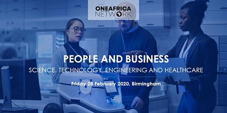 People and Business in Science, Technology, Engineering and Healthcare tickets