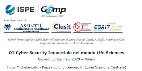 OT Cyber Security Industriale nel mondo Life Sciences biglietti