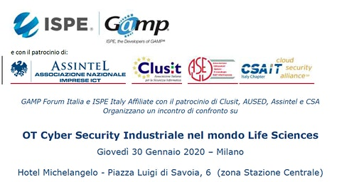 OT Cyber Security Industriale nel mondo Life Sciences