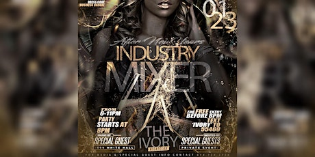 """The """"INDUSTRY MIXER"""" Atlanta's Private Networking Party tickets"""