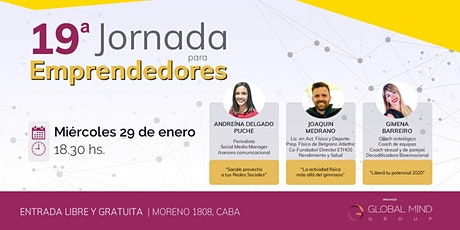 19° Jornada Para Emprendedores entradas