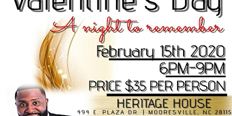 Valentine's Day Dinner With Special Guest Comedian Akintunde tickets