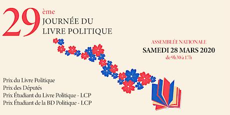 29e Journée du Livre Politique billets