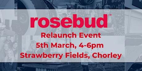 Rosebud Finance Relaunch tickets