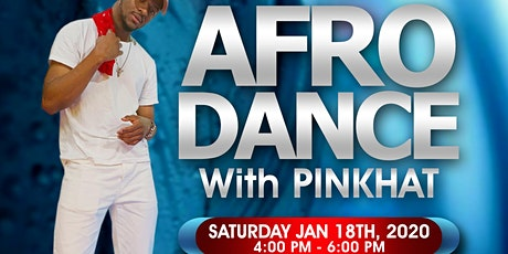 Afro Dance / Afrobeats with PINKHAT - Detroit tickets