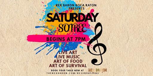 Saturday Soiree at Rex Baron Boca Raton