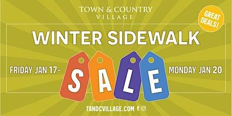 Winter Sidewalk Sale at Town & Country Village tickets