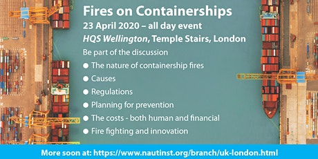 Fires on Containerships tickets