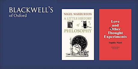 Philosophy in the Bookshop - Nigel Warburton and Sophie Ward tickets