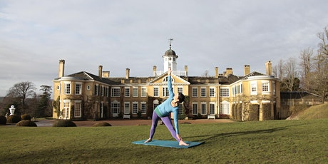 Yoga in the gardens Polesden Lacey tickets