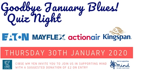 CIBSE YEN Goodbye January Blues Quiz Night tickets