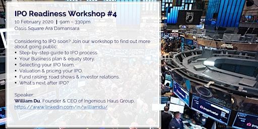 IPO Readiness Workshop #4