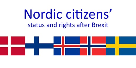 Nordic citizens' status and rights after Brexit tickets