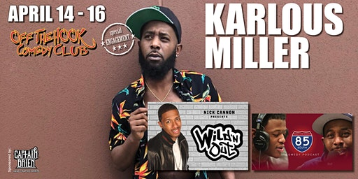 Comedian Karlous Miller Wild N Out Star Naples, FL Off The Hook Comedy Club