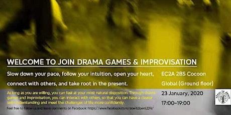 Drama Games and Improvisation tickets