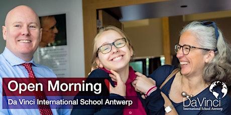 Open Morning  @  Da Vinci International School Antwerp tickets