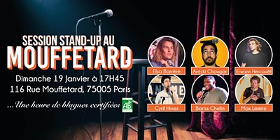 Session Stand-Up au Mouffetard #13
