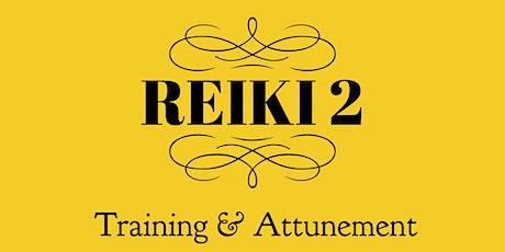 Reiki 2 Training & Attunement ingressos