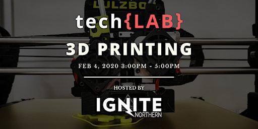 tech{LAB} 3D Printing