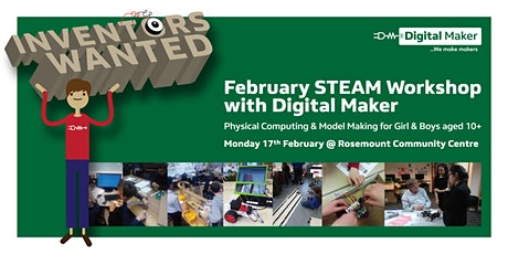 Inventors Wanted on Monday 17th February tickets
