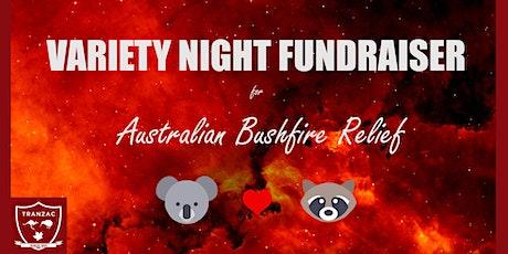 Variety Night - Australian Bushfire Fundraiser tickets