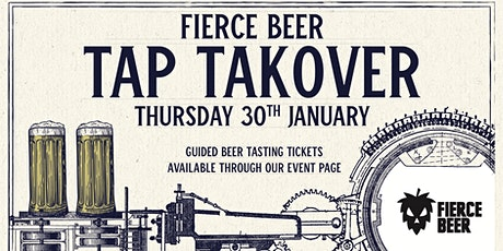 FIERCE: Meet the Brewer & Guided Beer Tasting tickets
