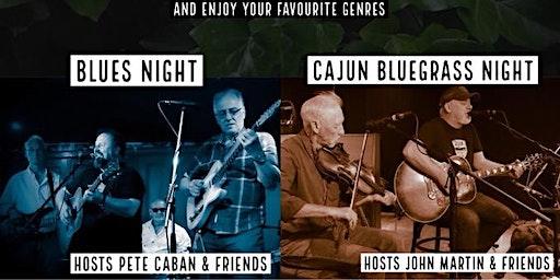 Thursday Night Jams: Country Cajun Bluegrass with Host John Martin
