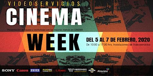 VIDEOSERVICIOS CINEMA WEEK