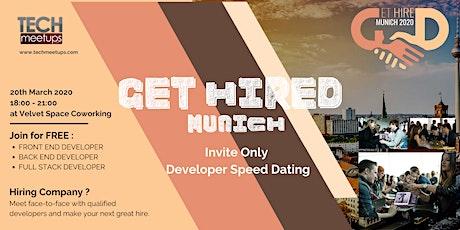 Get Hired Munich 2020 tickets