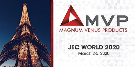 MVP at JEC World tickets