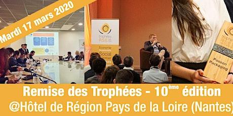 Soirée de remise des Trophées RSE Pays de la Loire 2020 billets