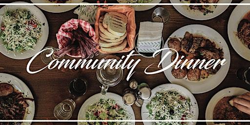 Community Dinner REGISTRATION