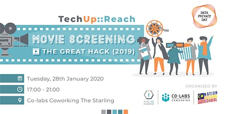 Movie Screening: THE GREAT HACK (2019) tickets