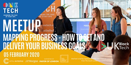 Mapping Progress - how to set and deliver on your business goals tickets