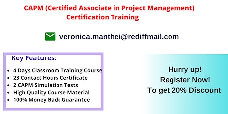 CAPM Certification Training In Birmingham, AL tickets