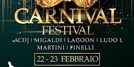 Carnival Festival biglietti