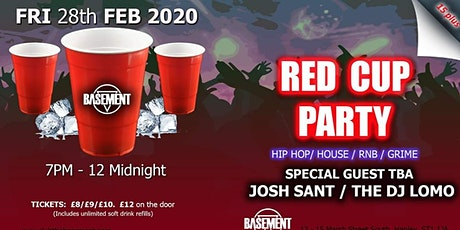 Basement Pres. Red Cup Party  (15plus - Under 18s  tickets