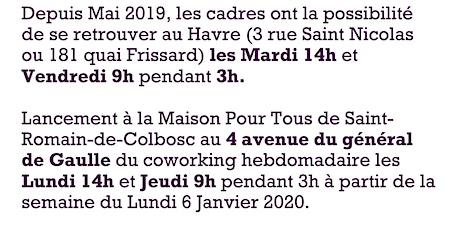 Coworking Cadres en Transition Professionnelle à Saint-Romain-De-Colbosc billets