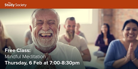 FREE CLASS: Mindful Meditation with Patti Good tickets