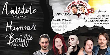 Humour et bouffe végane /  27 janvier billets