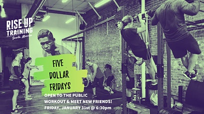 Five Dollar Friday Community Workout tickets