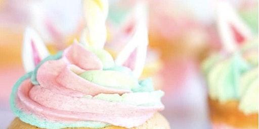Kid's Unicorn Cupcake Decorating