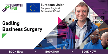 Gedling Business Surgeries - 26th February 2020 tickets