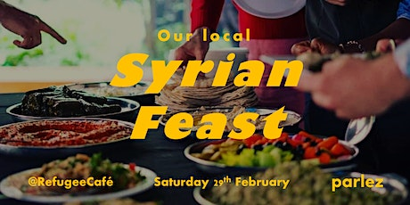 Syrian Feast @ parlez tickets