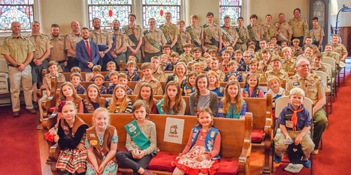 Scout Sunday @ Central Baptist Church