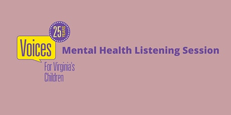 Mental Health Listening Session tickets
